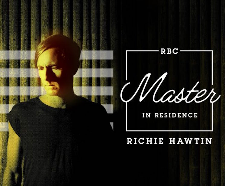 Richie Hawtin Offering Mentorships at the National Music Centre