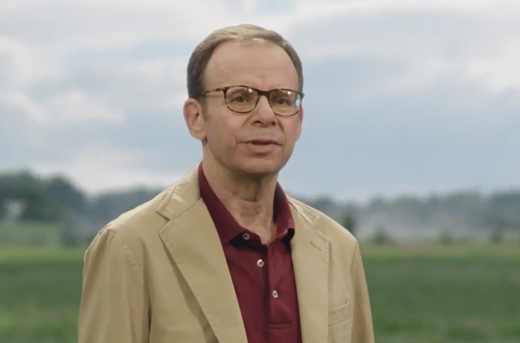 Rick Moranis Returns to the Screen... But It's for a Cellphone Commercial