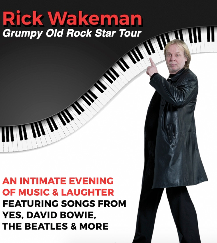 Rick Wakeman Is Bringing His First North American Tour in 13 Years to Canada