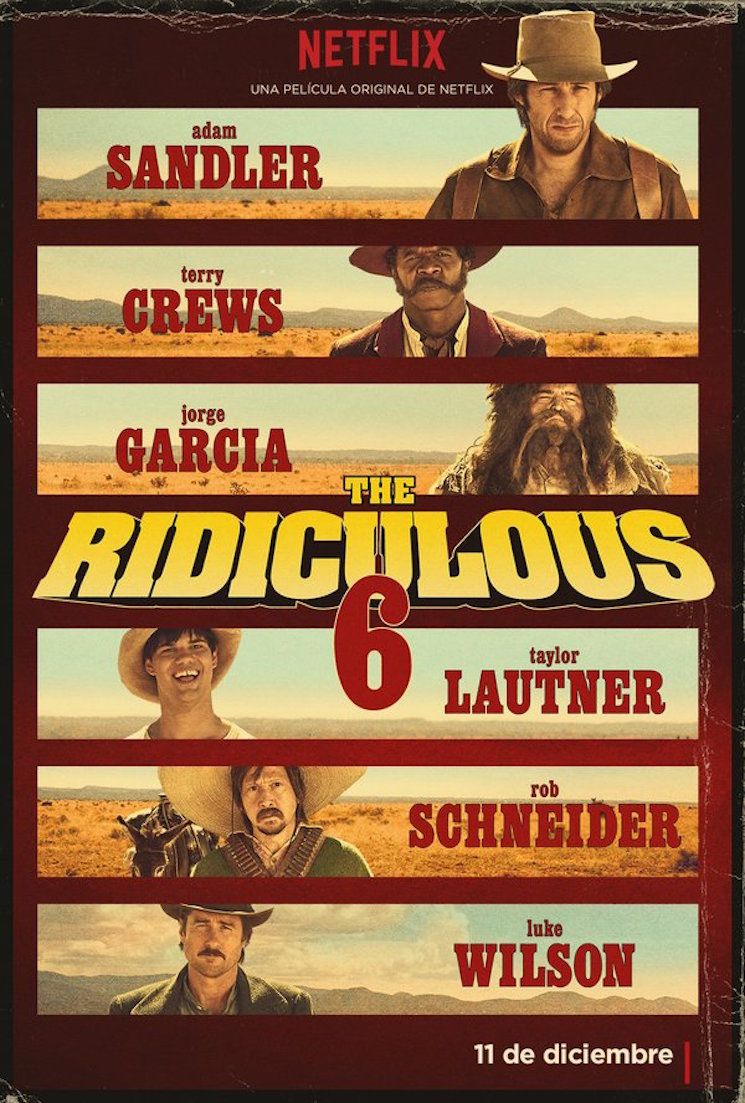 The Ridiculous Six Trailer