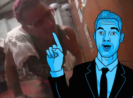 "Riff Raff ""Introducing the Icon"" (video)"