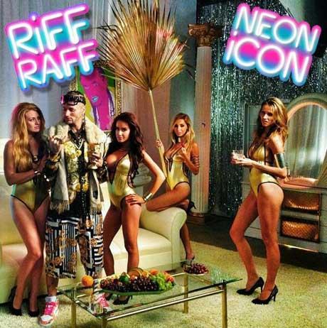Riff Raff Reveals 'Neon Icon' Album Art