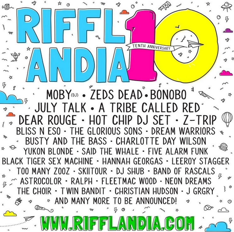 Victoria's Rifflandia Gets Moby, Zeds Dead, Bonobo, Hot Chip for 2017 Festival