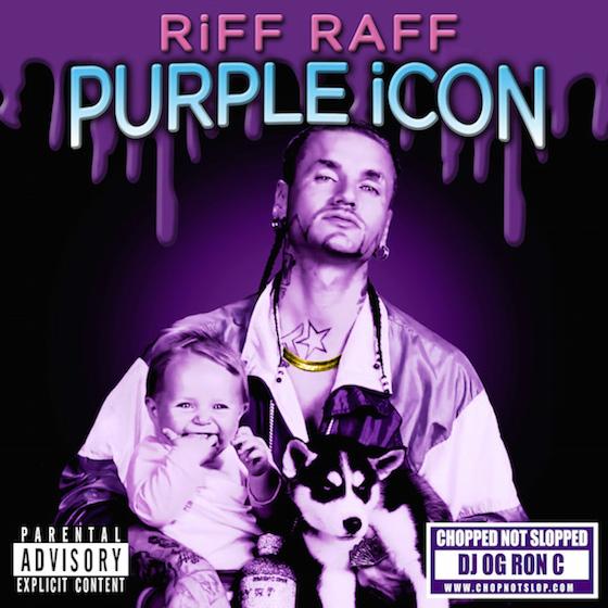 Riff Raff 'PURPLE iCON' (remix album)