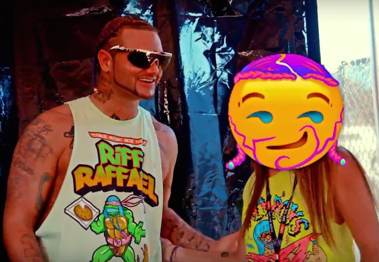 """Riff Raff """"Spazz Out"""" (ft. Travis Barker) (video)"""