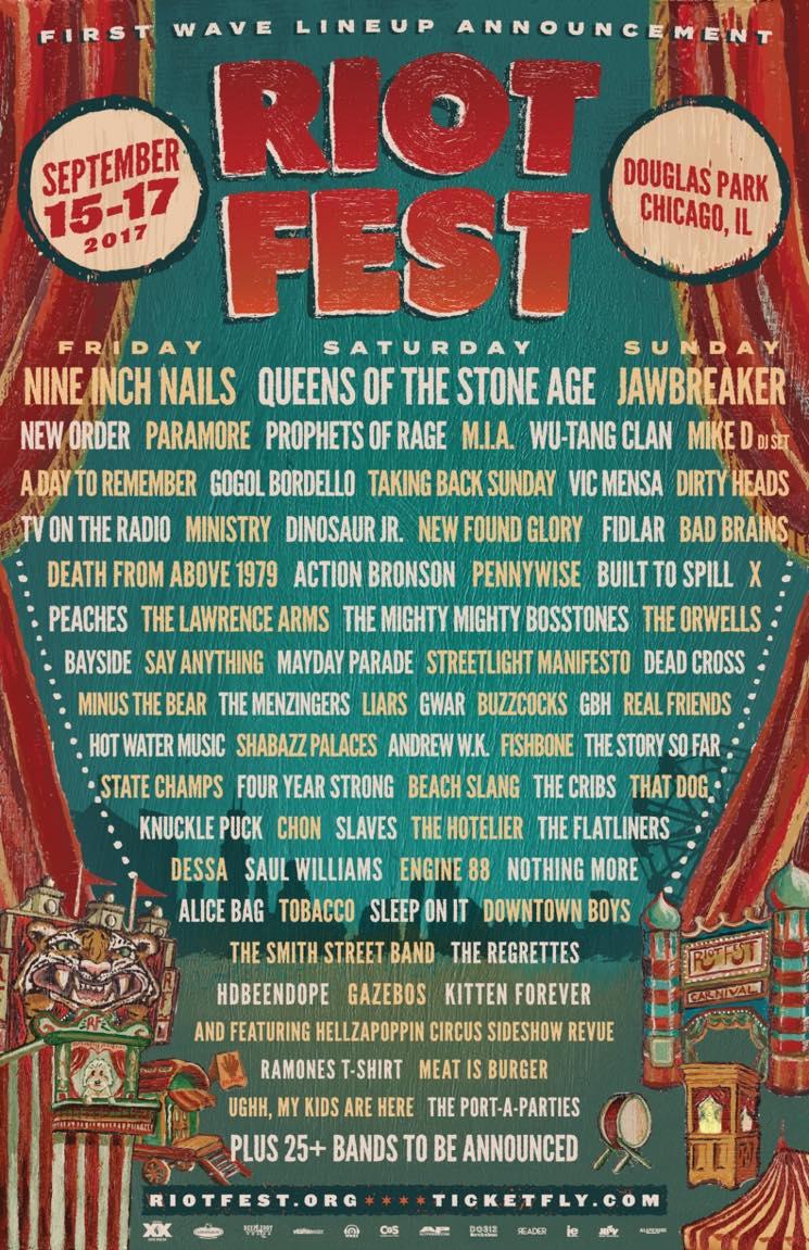 Jawbreaker Reunite for Riot Fest