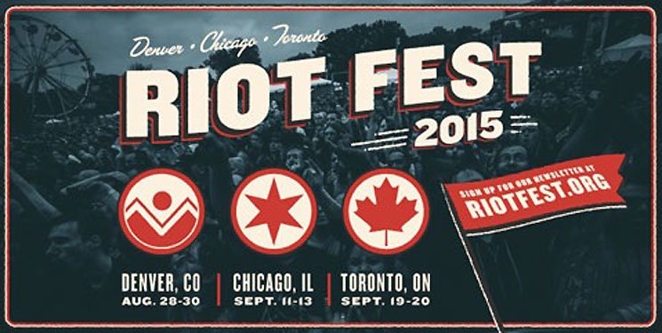Riot Fest Confirms 2015 Dates