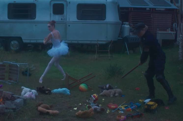 "​Watch Chloë Sevigny Play a Cop in Pussy Riot's ""Police State"" Video"