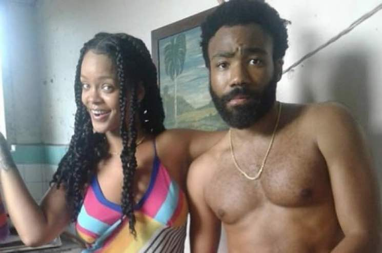 Rihanna and Donald Glover Are Up to Something
