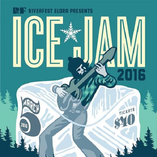 Riverfest Elora's Ice Jam Brings Out 54-40, the Sadies, Grand Analog