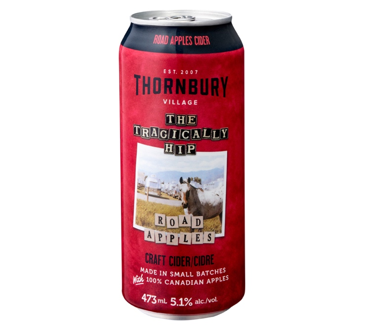 The Tragically Hip and Thornbury Craft Team Up on 'Road Apples' Cider