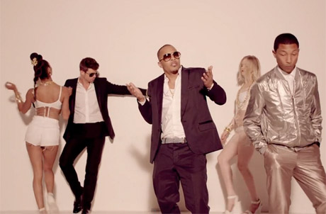 "Robin Thicke, Pharrell and T.I. Sue Marvin Gaye's Family and Funkadelic Copyright Holder over Ownership of ""Blurred Lines"""