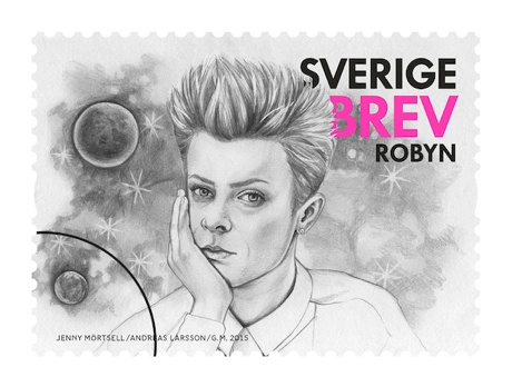 Sweden Honours Robyn, First Aid Kit and Avicii with Postage Stamps