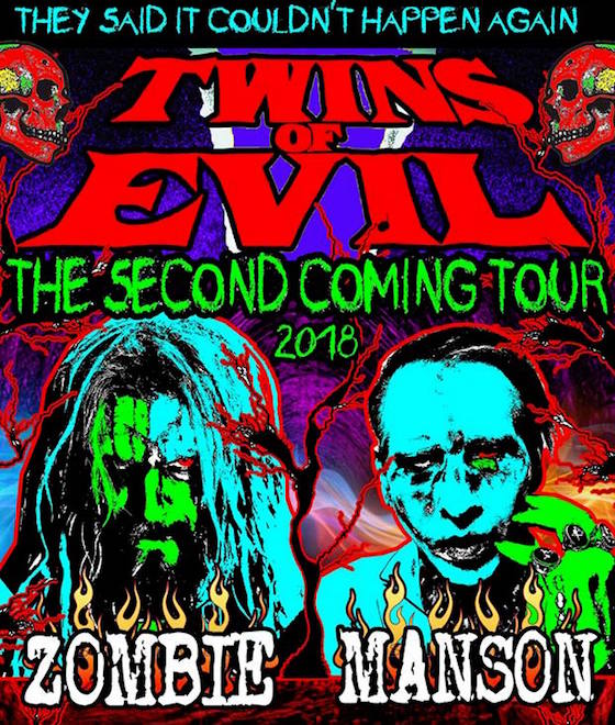 Marilyn Manson and Rob Zombie Team Up for Summer Tour