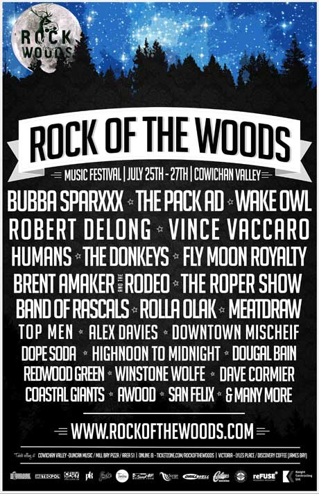 BC's Rock the Woods Gets Pack A.D., Wake Owl, Bubba Sparxxx