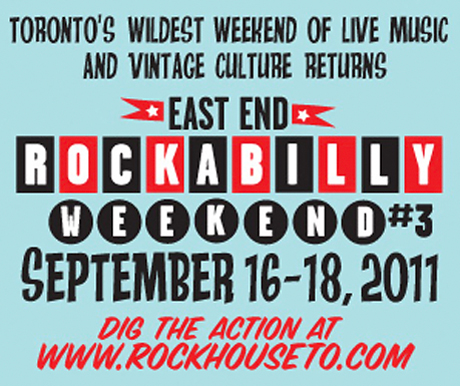 Toronto's East End Rockabilly Weekend #3 Brings Out the Royal Crowns, the Kingmakers, Tennessee Voodoo Coupe