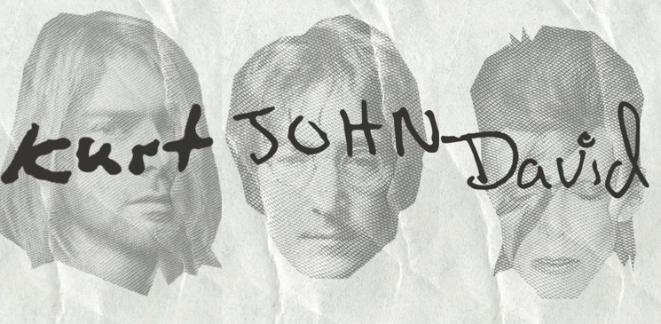 You Can Now Download Fonts Made from Kurt Cobain, David Bowie and John Lennon's Handwriting