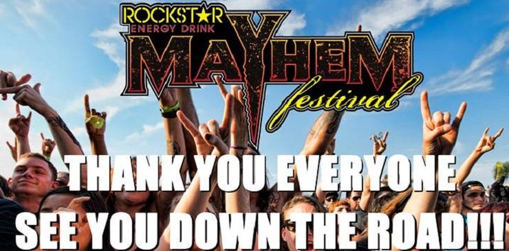 Mayhem Organizers Pulling the Plug on Festival?