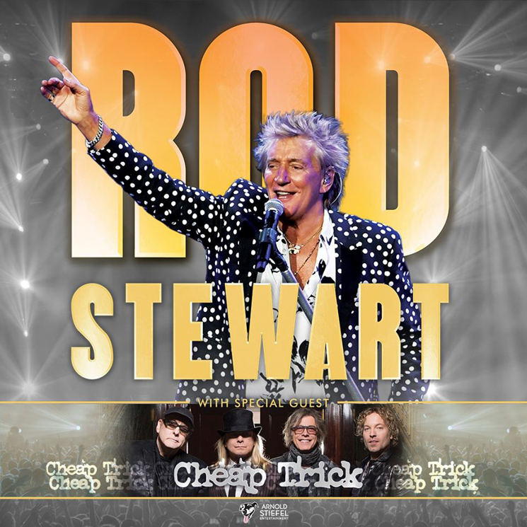 Rod Stewart and Cheap Trick to Play Toronto on North American Tour