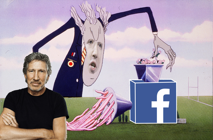 Roger Waters Denies Facebook's Request to Use 'Another Brick in the Wall' for an Ad