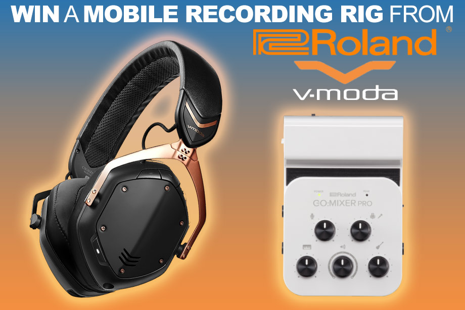 Win a mobile recording rig from Roland and V-MODA!