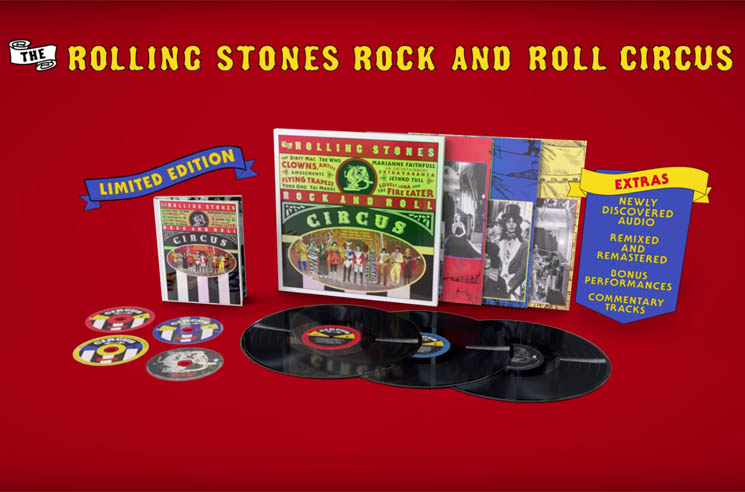 ​The Rolling Stones Ready Remastered 'Rock and Roll Circus' Box Set