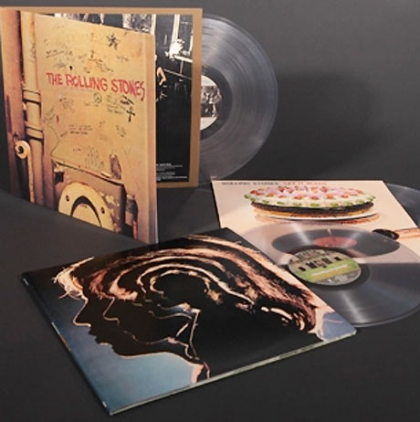The Rolling Stones Reissue Classic Albums on Clear Vinyl