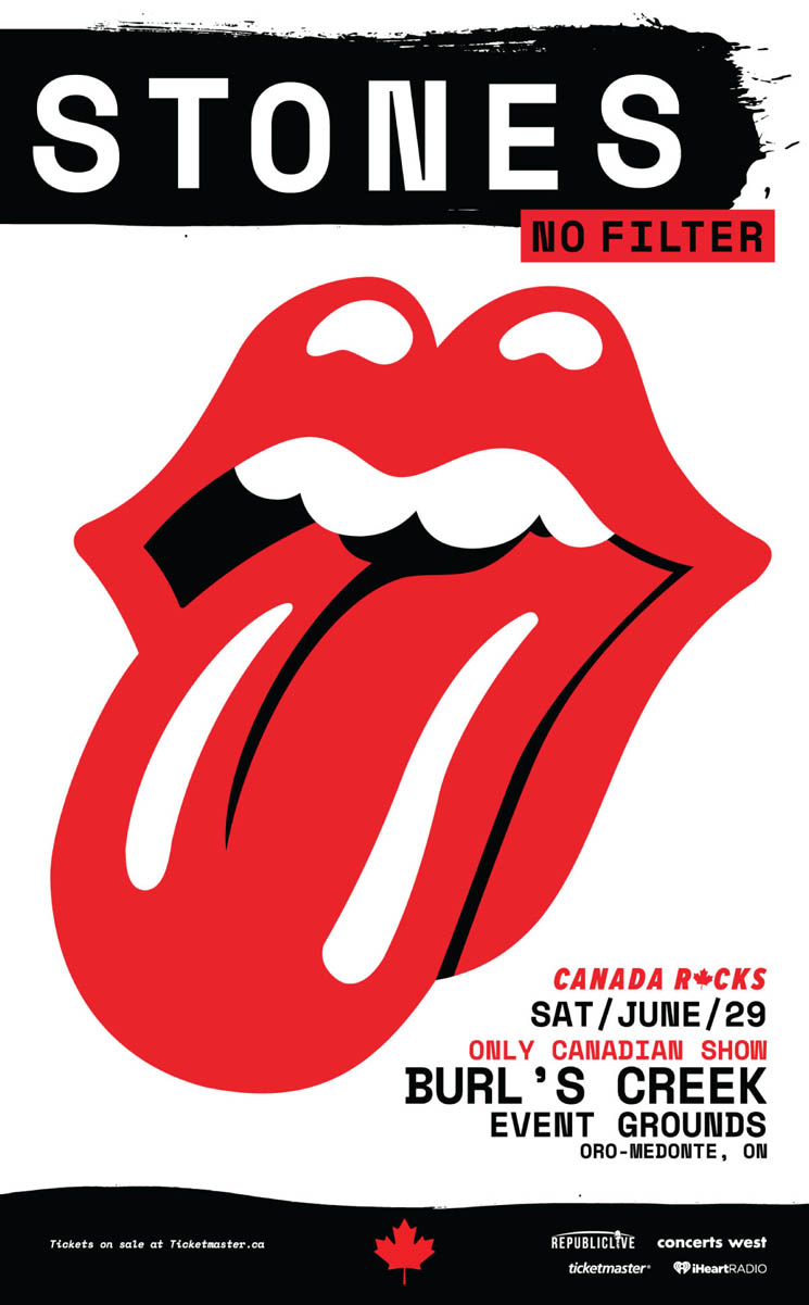 "Rolling Stones to Play Only Canadian ""No Filter"" Show in Oro-Medonte"