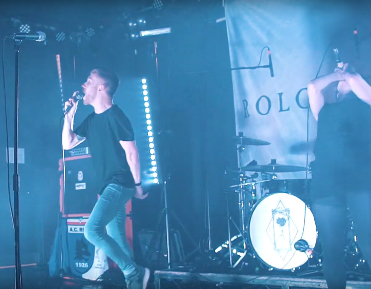 "Watch U.K. Mathcore Band Rolo Tomassi Blare Through ""Estranged"" Live"