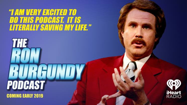 Will Ferrell Is Bringing Back 'Anchorman' Character for 'The Ron Burgundy Podcast'