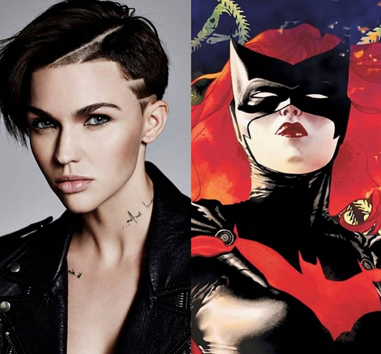 Ruby Rose debuts her sensational Batwoman costume for The CW