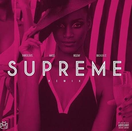 """Rick Ross """"Supreme"""" (remix ft. Big K.R.I.T., Ma$e and Fabolous)"""