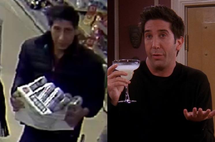 ​Ross from 'Friends' Lookalike Arrested by British Police