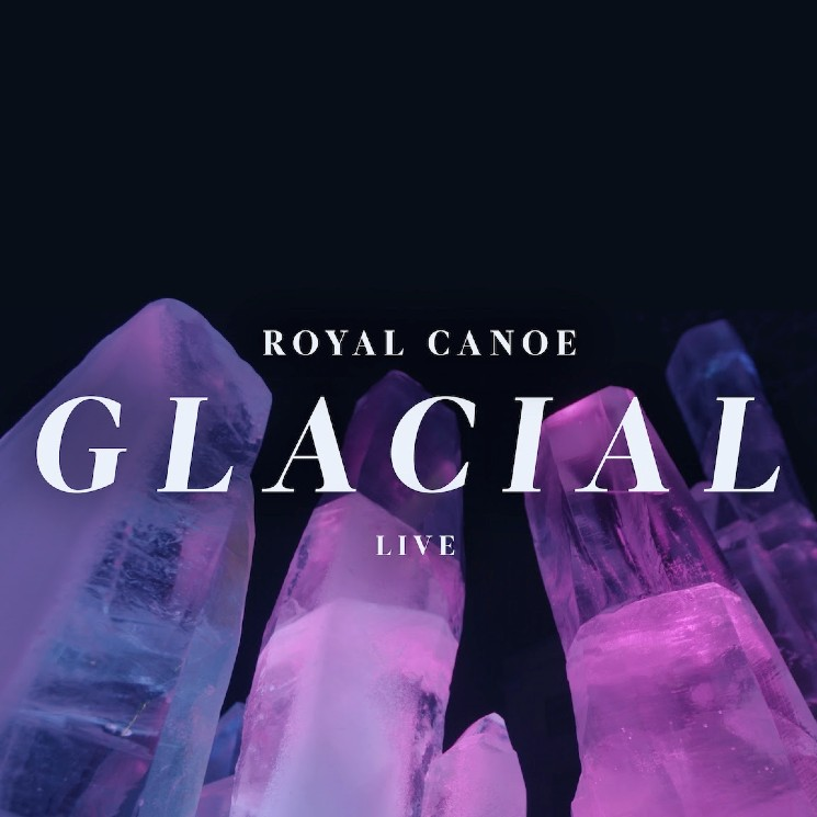 Royal Canoe Innovate with Instruments Made of Ice on Live EP 'Glacial'