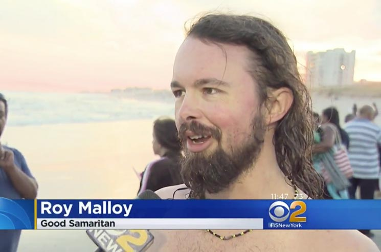 Alex Cameron Saxophonist Roy Molloy Saves Drowning Boy