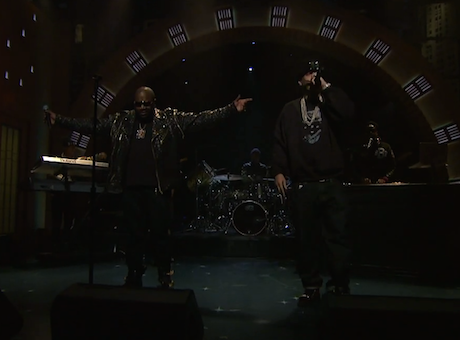 "Rick Ross ""Nobody"" (ft. French Montana) (live on 'Meyers')"