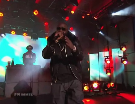 "Rick Ross ""If They Knew"" (live on 'Kimmel')"