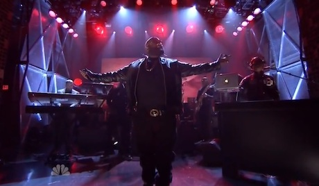 "Rick Ross ""The Devil is a Lie"" (ft. the Roots) (live on 'Fallon')"