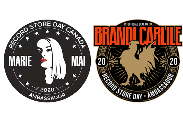Brandi Carlile and Marie-Mai Named Record Store Day 2020 Ambassadors