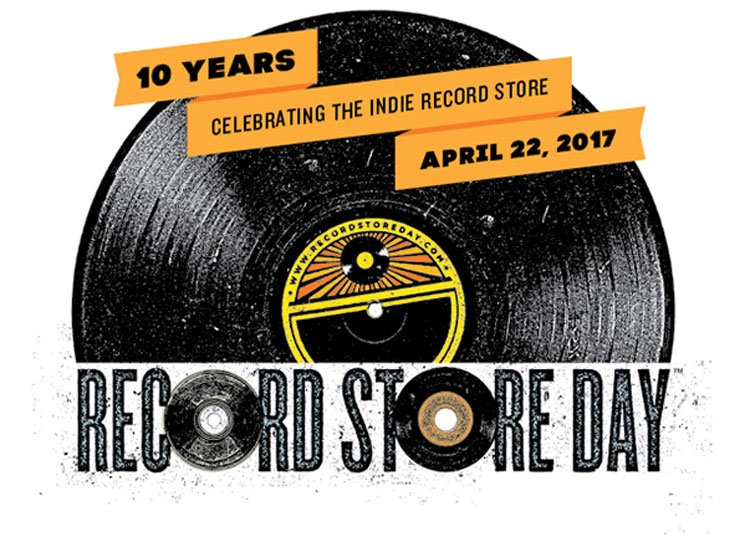 Record Store Day Announces 2017 Date for 10th Anniversary Event