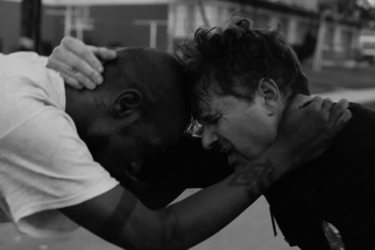 "Run the Jewels ""Close Your Eyes (And Count to Fuck)"" (video) (ft. Zach de la Rocha)"