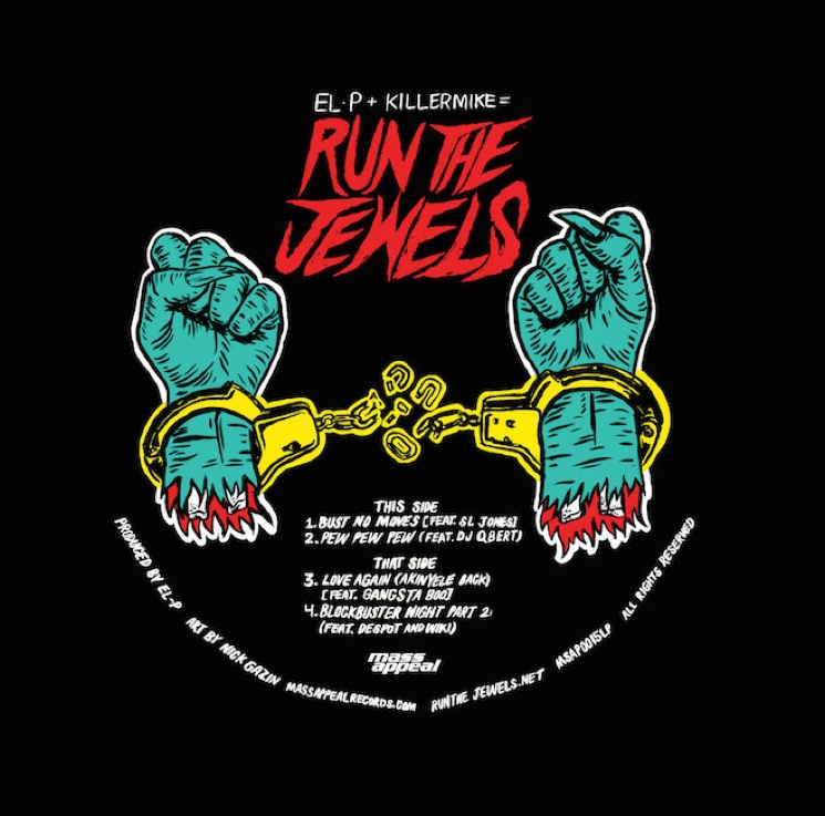 Run the Jewels 'Bust No Moves' (ft. SL Jones)
