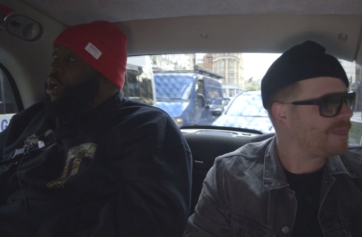 "Run the Jewels ""Early"" (ft. Boots) ('Black Cab Sessions' video)"