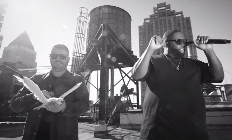 Run the Jewels 'Squawk the Jewels' ('Colbert' sketch)