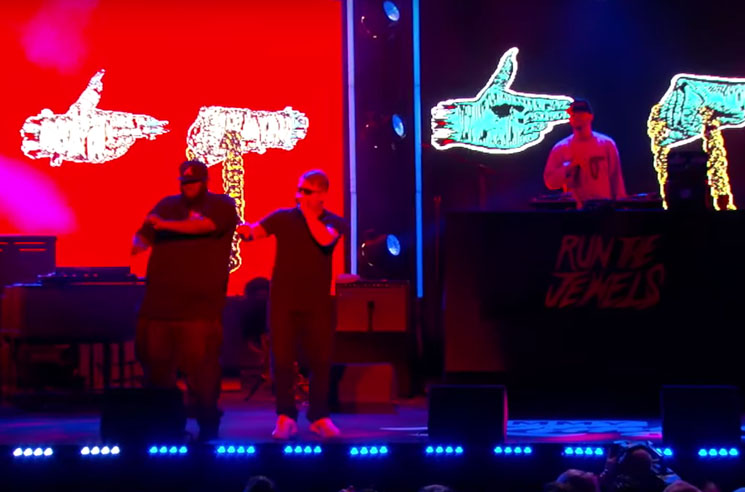 "Run the Jewels Take ""Crown"" to 'Jimmy Kimmel Live'"