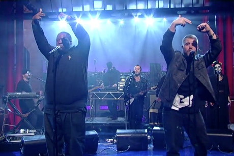 "Run the Jewels ""Early"" (live on 'Letterman')"