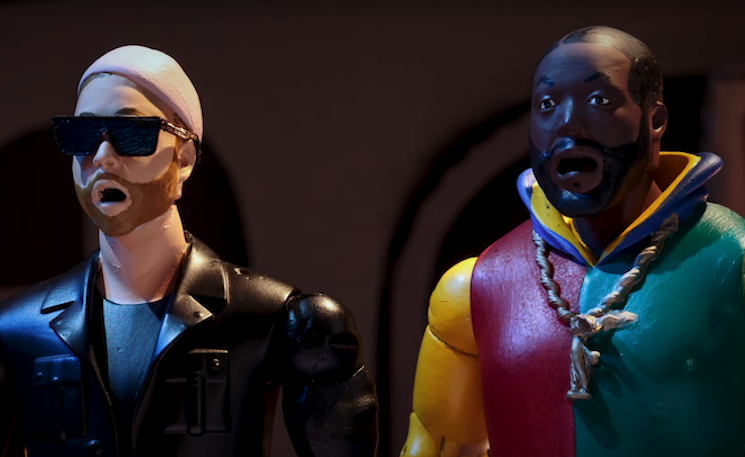 Run the Jewels Are Action Figure Heroes in 'Walking in the Snow'