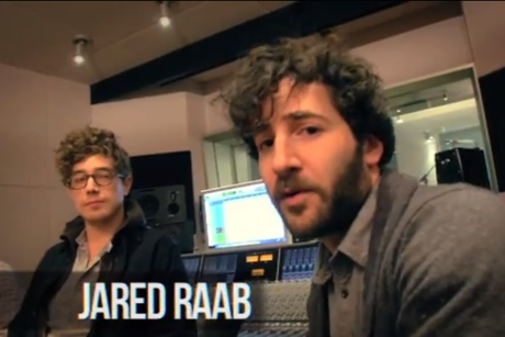Born Ruffians 'In the Studio w/ Jared' Pt. 2 ('Birthmarks' making-of video documentary)