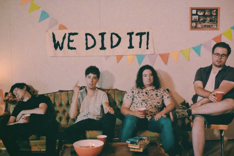 Born Ruffians '(Eat Shit) We Did It' (video)