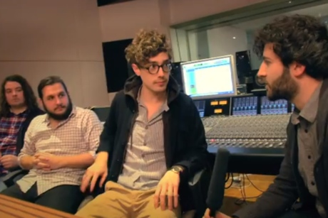 Born Ruffians 'In the Studio w/ Jared' Pt. 4 ('Birthmarks' making-of video documentary)